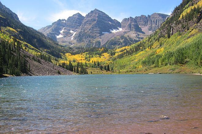 dovolená u jezera