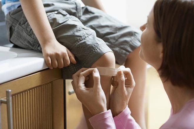 úrazy dětí v domácnosti