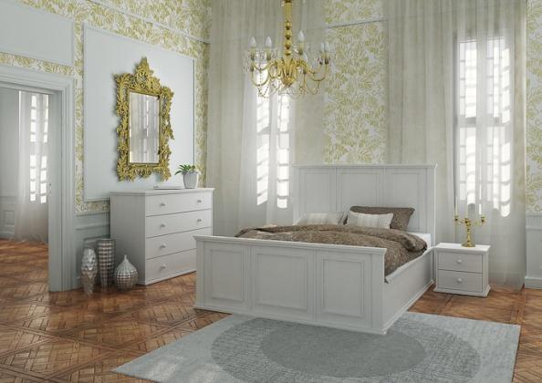 postele z masívu